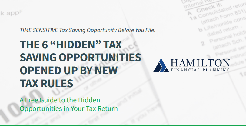 THE 6 HIDDEN TAX SAVING OPPORTUNITIES